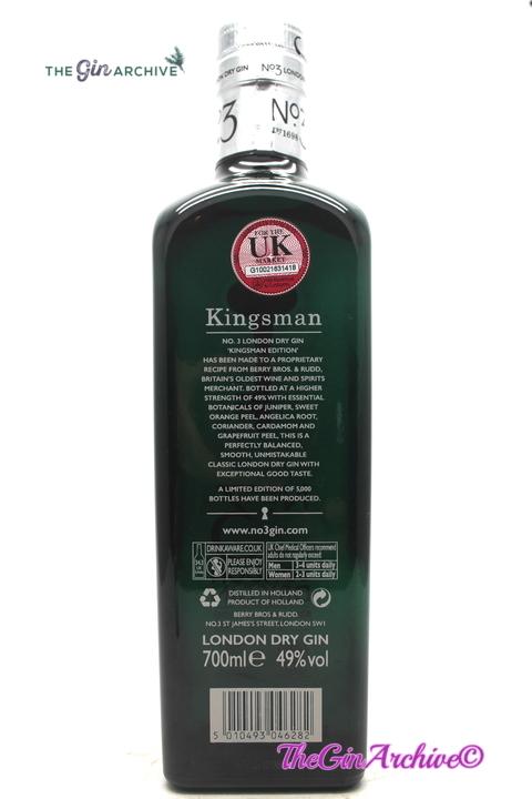 No 3 Gin Kingsman Edition
